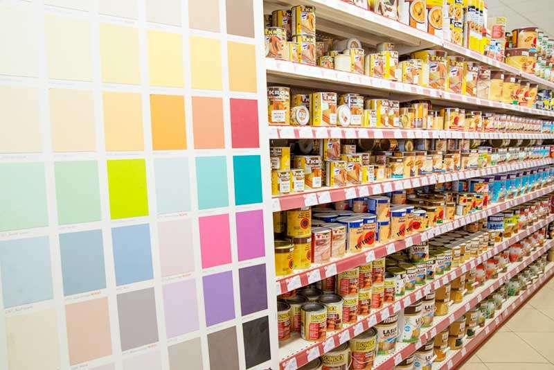 Sección materiales de pintura Castrogres, Castro Urdiales